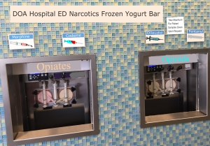ED Narcotic Frozen Yogurt Dispensary